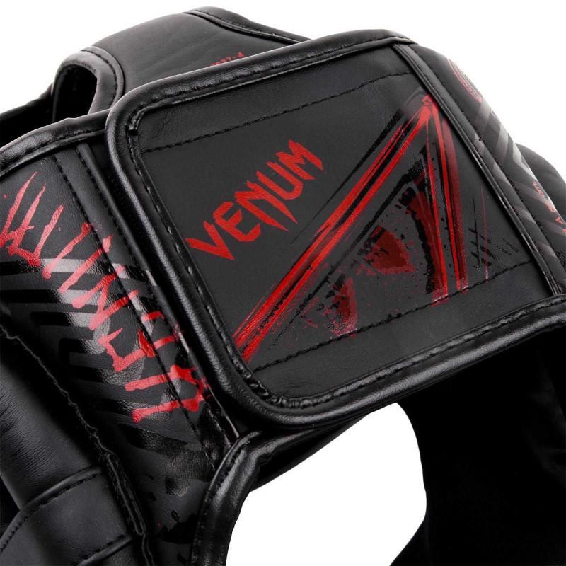 Шлем Venum Gladiator 3.0 Headgear Black/Red (02160) фото 5