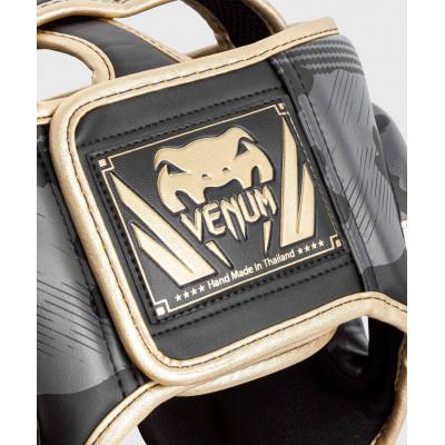 Шлем Venum Elite Boxing Headgear Dark camo/Gold (02003) фото 5
