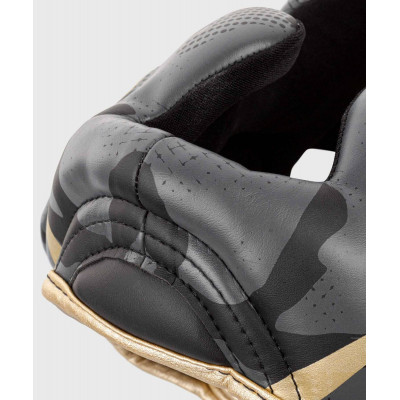Шлем Venum Elite Boxing Headgear Dark camo/Gold (02003) фото 7
