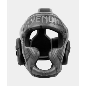 Шлем Venum Elite Boxing Headgear Black/Dark camo