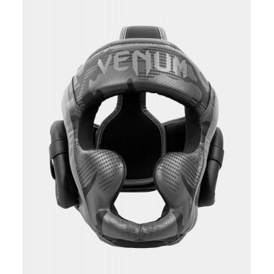 Шолом Venum Elite Boxing Headgeaи Black/Dark camo (02005) фото 1