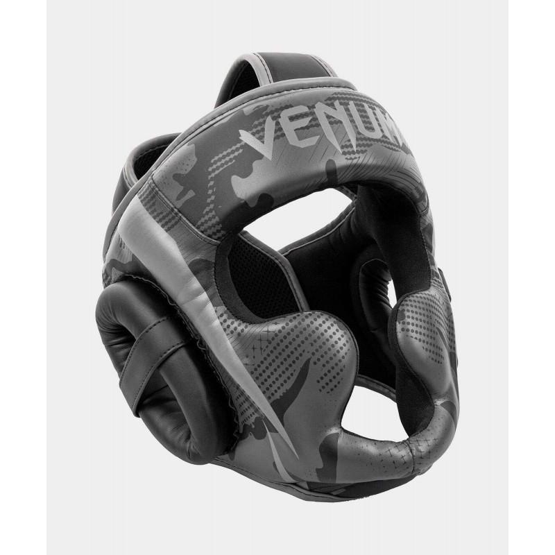 Шолом Venum Elite Boxing Headgeaи Black/Dark camo (02005) фото 3