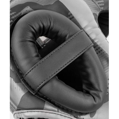 Шолом Venum Elite Boxing Headgeaи Black/Dark camo (02005) фото 5
