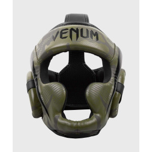 Шлем Venum Elite Boxing Headgear Khaki camo