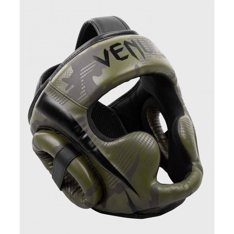 Шлем Venum Elite Boxing Headgear Khaki camo (02004) фото 3