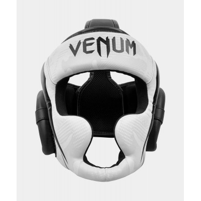 Шлем Venum Elite Boxing Headgear White/Camo (02001) фото 1