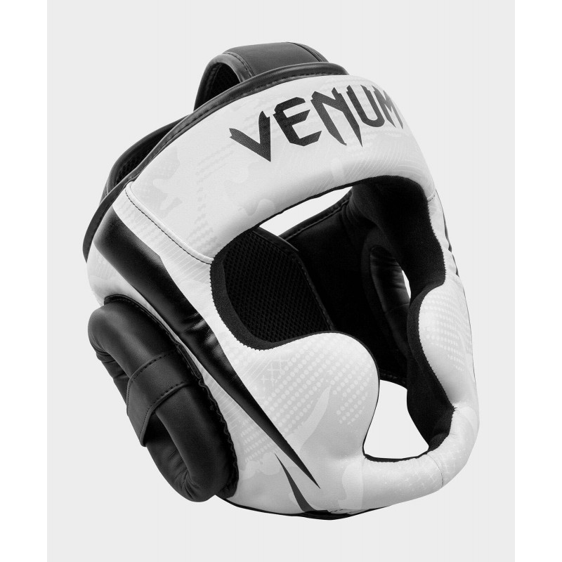 Шлем Venum Elite Boxing Headgear White/Camo (02001) фото 3
