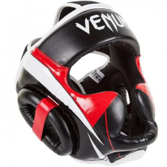 Шлем Venum Elite Headgear Black/Red/Ice
