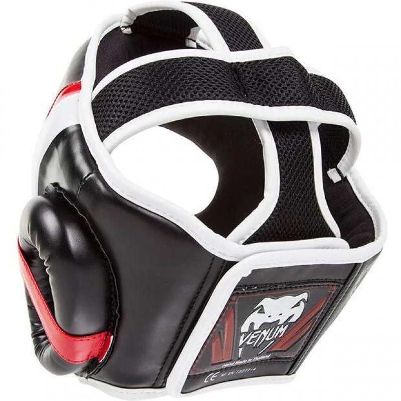 Шлем Venum Elite Headgear Black/Red/Ice (02014) фото 2