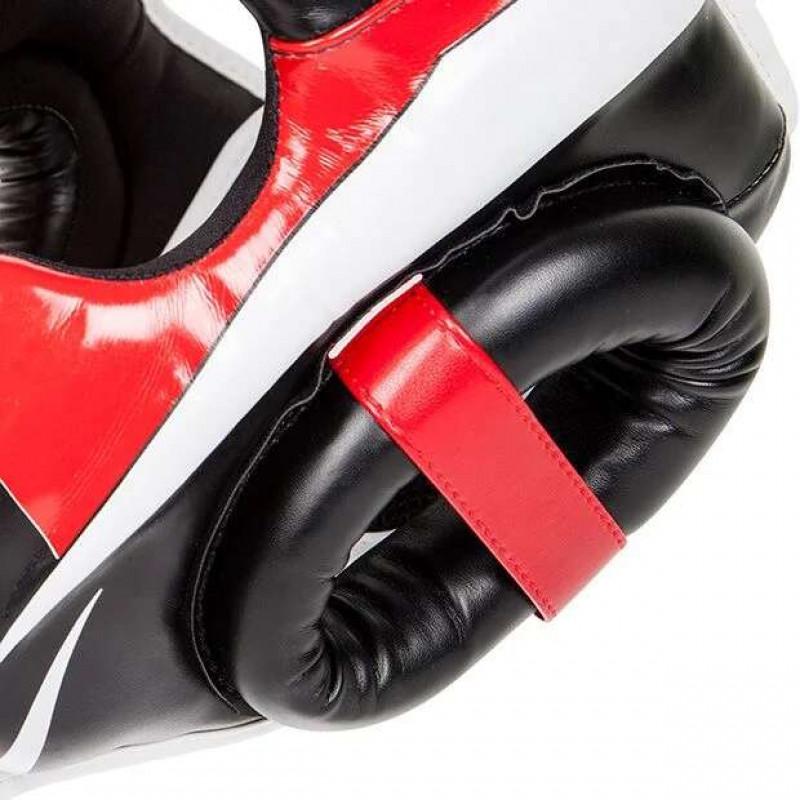 Шлем Venum Elite Headgear Black/Red/Ice (02014) фото 7
