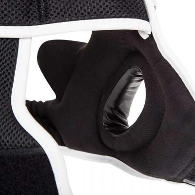 Шлем Venum Elite Headgear Black/Red/Ice (02014) фото 8