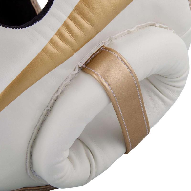 Шлем Venum Elite Headgear White/Gold (02015) фото 6