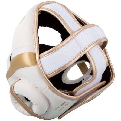 Шлем Venum Elite Headgear White/Gold (02015) фото 2