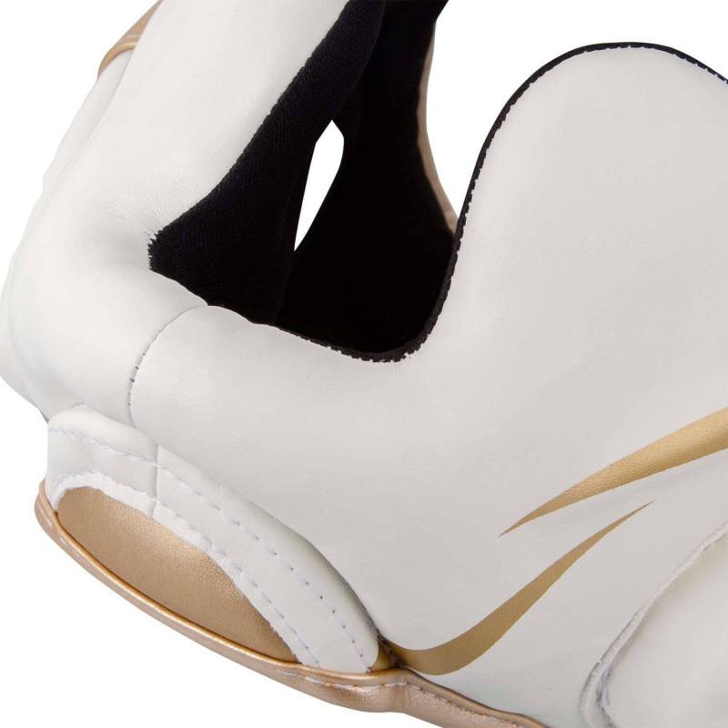 Шлем Venum Elite Headgear White/Gold (02015) фото 7