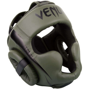Шлем Venum Elite Headgear Kaki/Black
