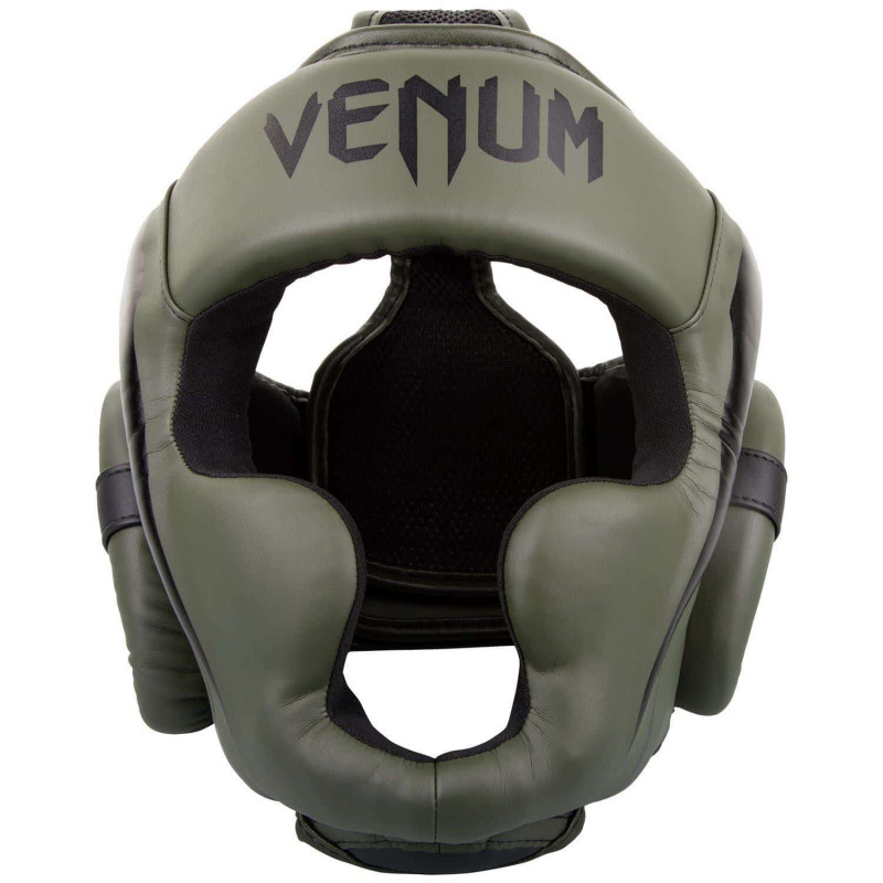 Шлем Venum Elite Headgear Kaki/Black (01858) фото 3