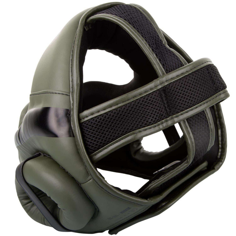 Шлем Venum Elite Headgear Kaki/Black (01858) фото 2