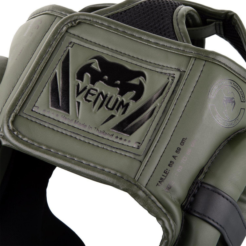 Шлем Venum Elite Headgear Kaki/Black (01858) фото 4