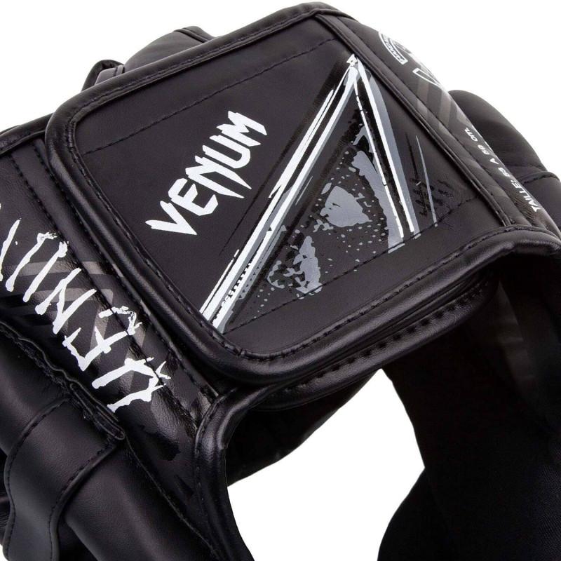 Шлем Venum Gladiator 3.0 Headgear Black/White (02018) фото 5