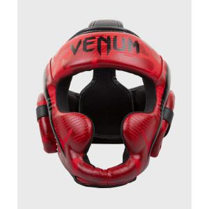 Шлем Venum Elite Boxing Headgear Red Camo