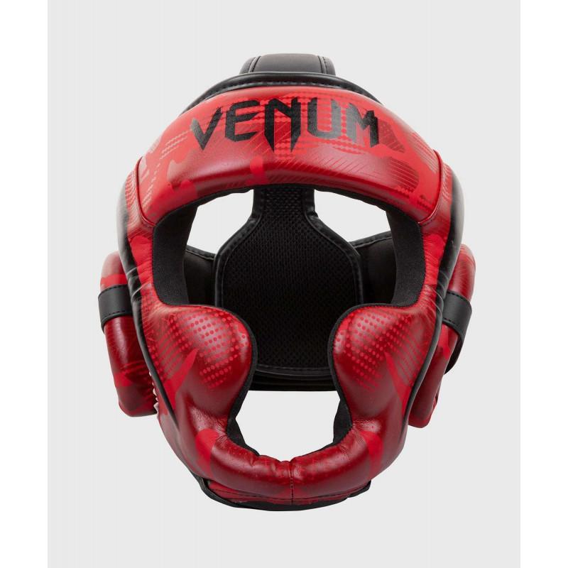 Шлем Venum Elite Boxing Headgear Red Camo (02002) фото 1