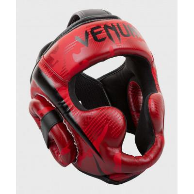 Шлем Venum Elite Boxing Headgear Red Camo (02002) фото 2