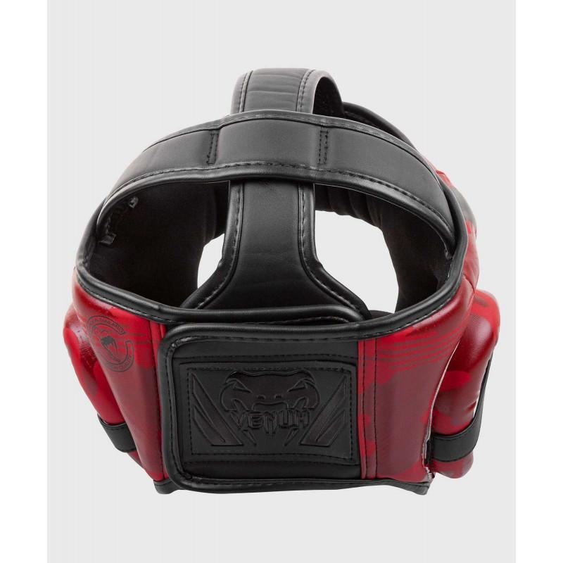 Шлем Venum Elite Boxing Headgear Red Camo (02002) фото 3