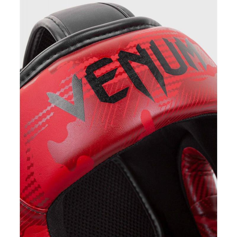 Шлем Venum Elite Boxing Headgear Red Camo (02002) фото 4