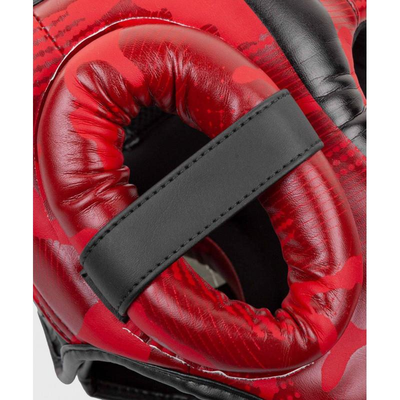 Шлем Venum Elite Boxing Headgear Red Camo (02002) фото 5