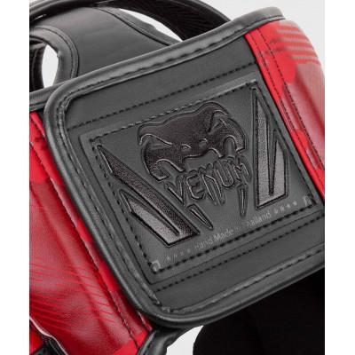 Шлем Venum Elite Boxing Headgear Red Camo (02002) фото 6