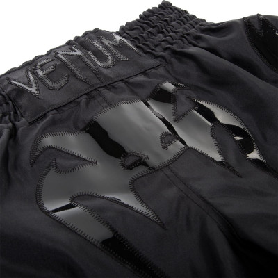 Шорти Venum Bangkok Inferno Muay Thai Shorts Black (01698) фото 3