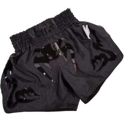 Шорты Venum Bangkok Inferno Muay Thai Shorts Black (01698)