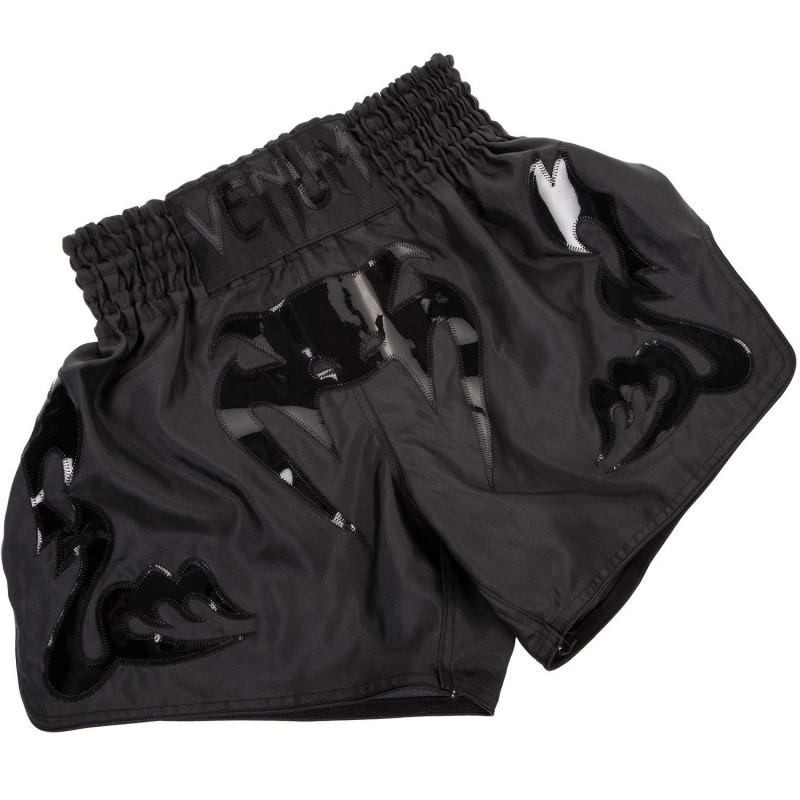 Шорти Venum Bangkok Inferno Muay Thai Shorts Black (01698) фото 1