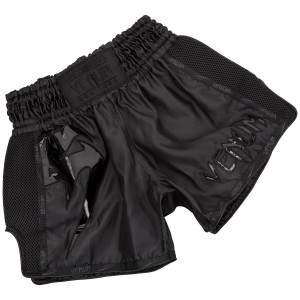 Шорти Venum Giant Muay Thai Shorts Black/Black