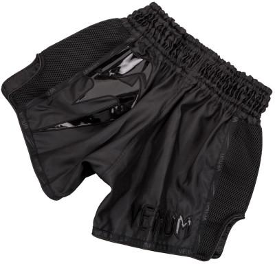 Шорти Venum Giant Muay Thai Shorts Black/Black (01713) фото 2