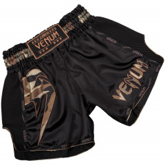Шорты Venum Giant Muay Thai Shorts B/Forest Camo