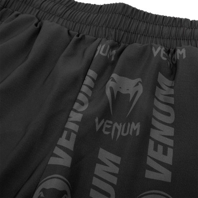 Шорты Venum Logos Training Shorts Black/Neo Yellow (01728) фото 6