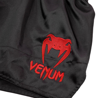 Шорты Venum Muay Thai Shorts Classic Black/Red (01731) фото 3