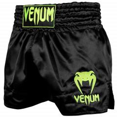 Шорты Venum Muay Thai Shorts Classic B/Neo Yellow