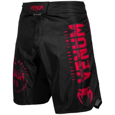 Шорты Venum Signature Fightshorts Black/Red (01739) фото 1