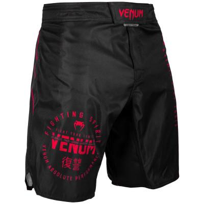 Шорты Venum Signature Fightshorts Black/Red (01739) фото 4
