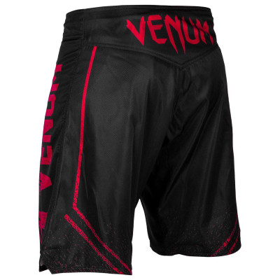 Шорты Venum Signature Fightshorts Black/Red (01739) фото 2