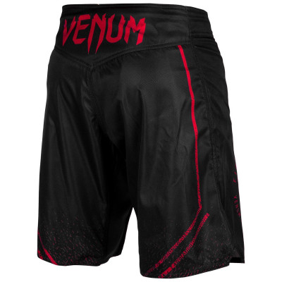 Шорты Venum Signature Fightshorts Black/Red (01739) фото 3