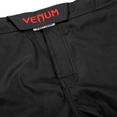 Шорты Venum Signature Fightshorts Black/Red (01739) фото 6