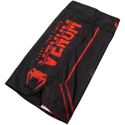 Шорты Venum Signature Fightshorts Black/Red (01739) фото 5