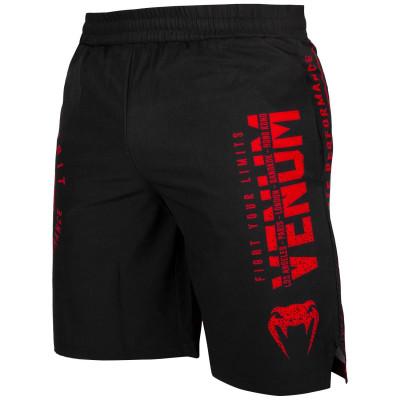 Шорты Venum Signature Training Shorts Black/Red (01745)