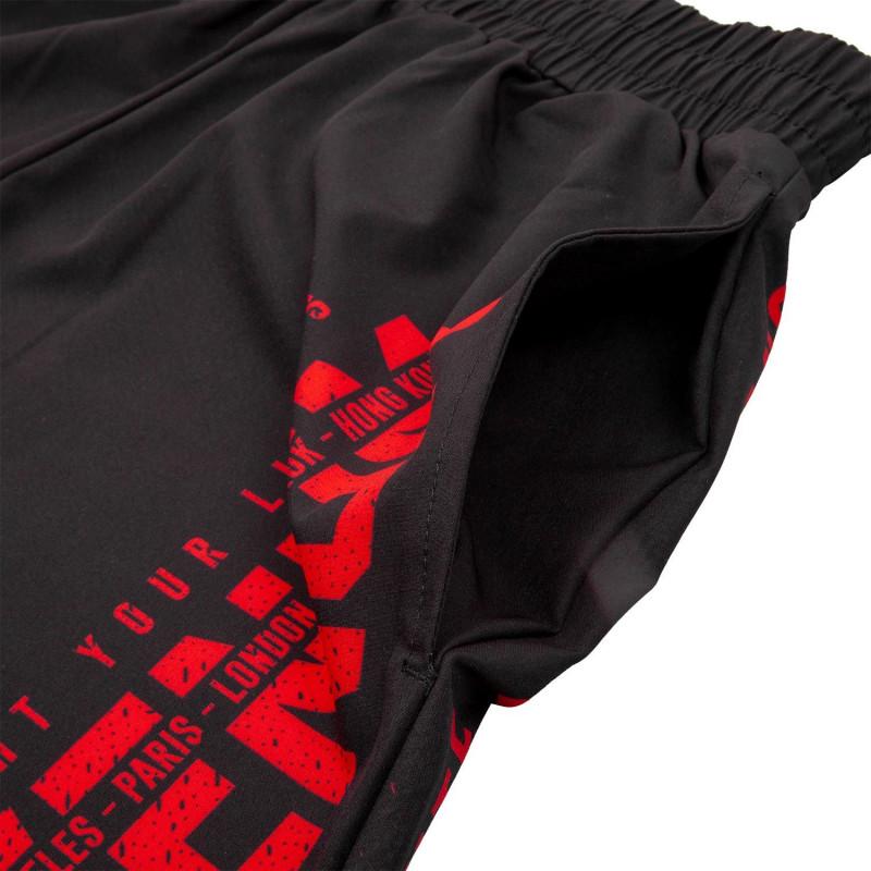 Шорты Venum Signature Training Shorts Black/Red (01745) фото 5