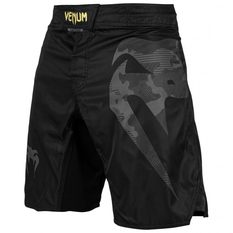 Шорти Venum Light 3.0 Fightshorts Чорні/Золоті (01818) фото 1