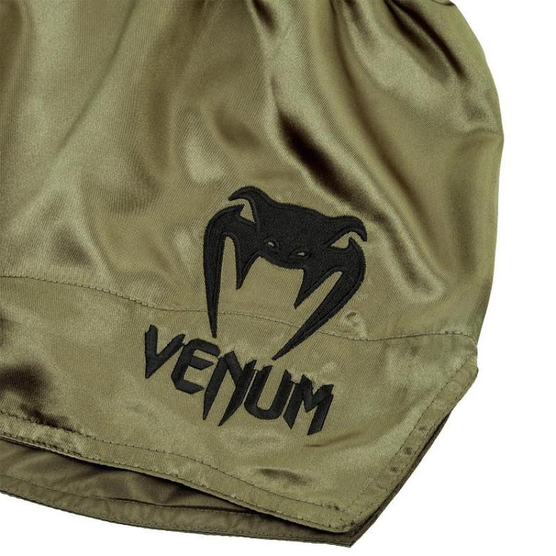 Шорты Venum Muay Thai Shorts Classic Khaki/Black (01733) фото 4