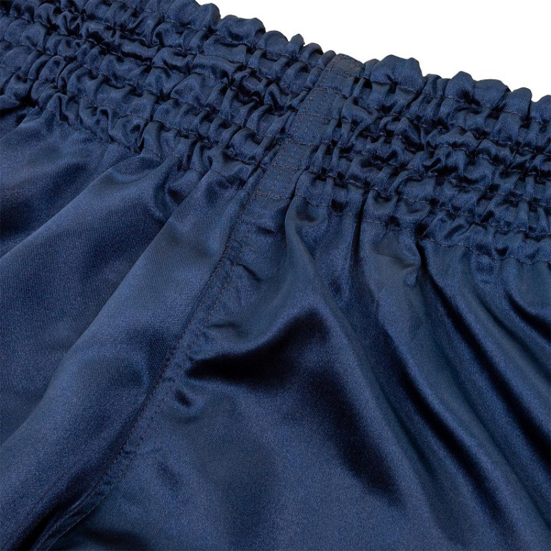 Шорты Venum Muay Thai Shorts Classic Blue/White (01734) фото 5